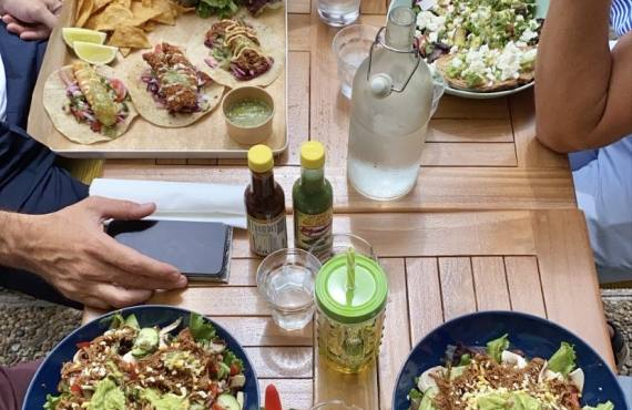 Cali, cantine californienne de tacos à Nice (partage)