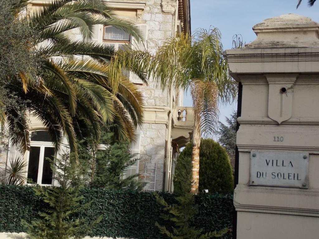 Cimiez, quartier à Nice (villa Soleil)