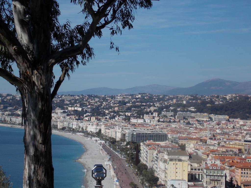 Colline du château de Nice (mer)