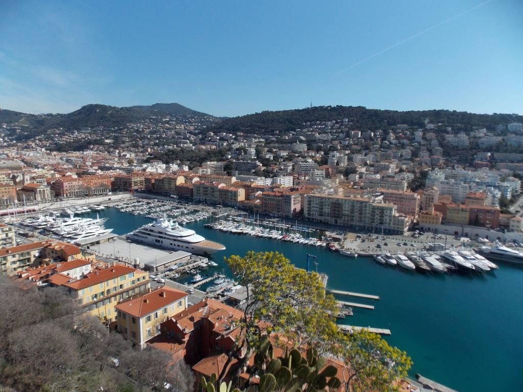 Colline du château de Nice (bateaux)
