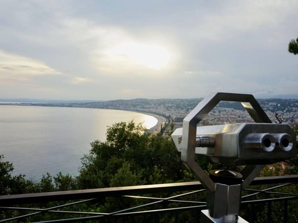 Colline du château de Nice (vue)
