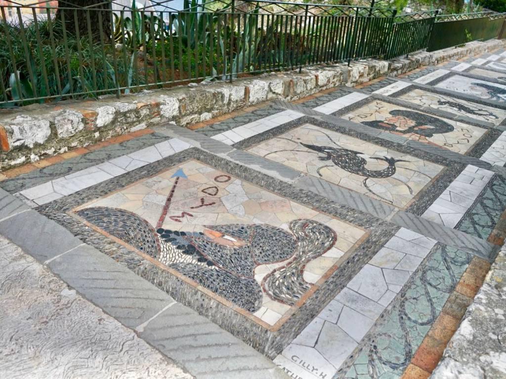 Colline du château de Nice (mosaïque)