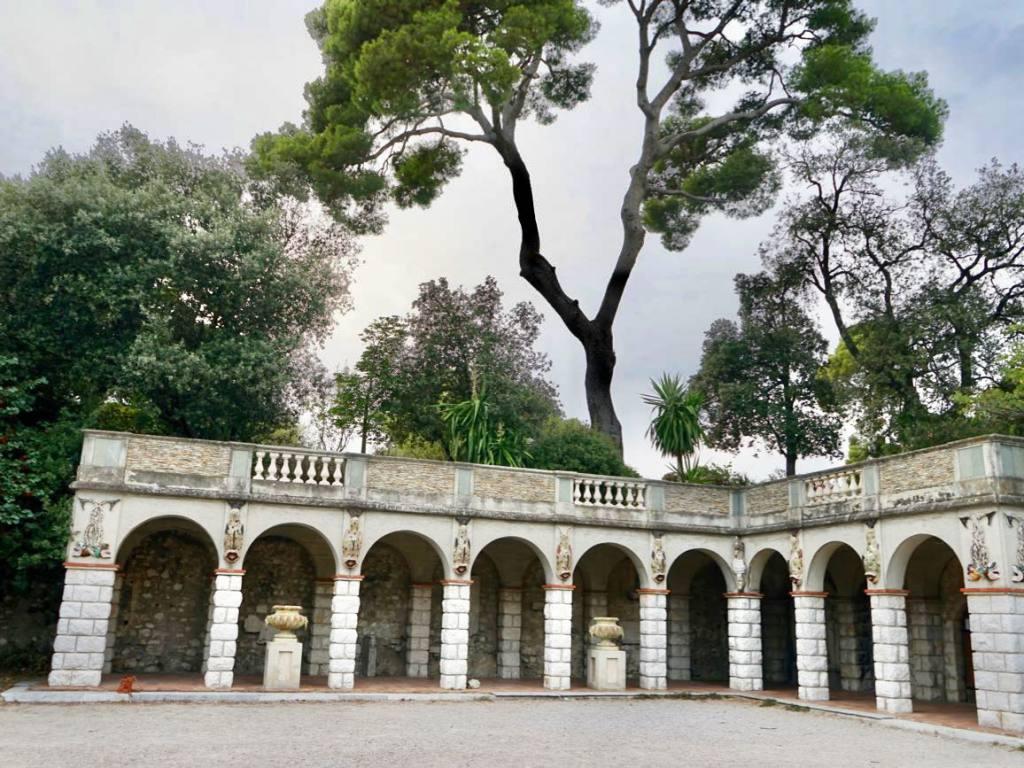 Colline du château de Nice (vestiges)