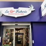 La Fisherie, épicerie fine de la mer à Nice (façade)