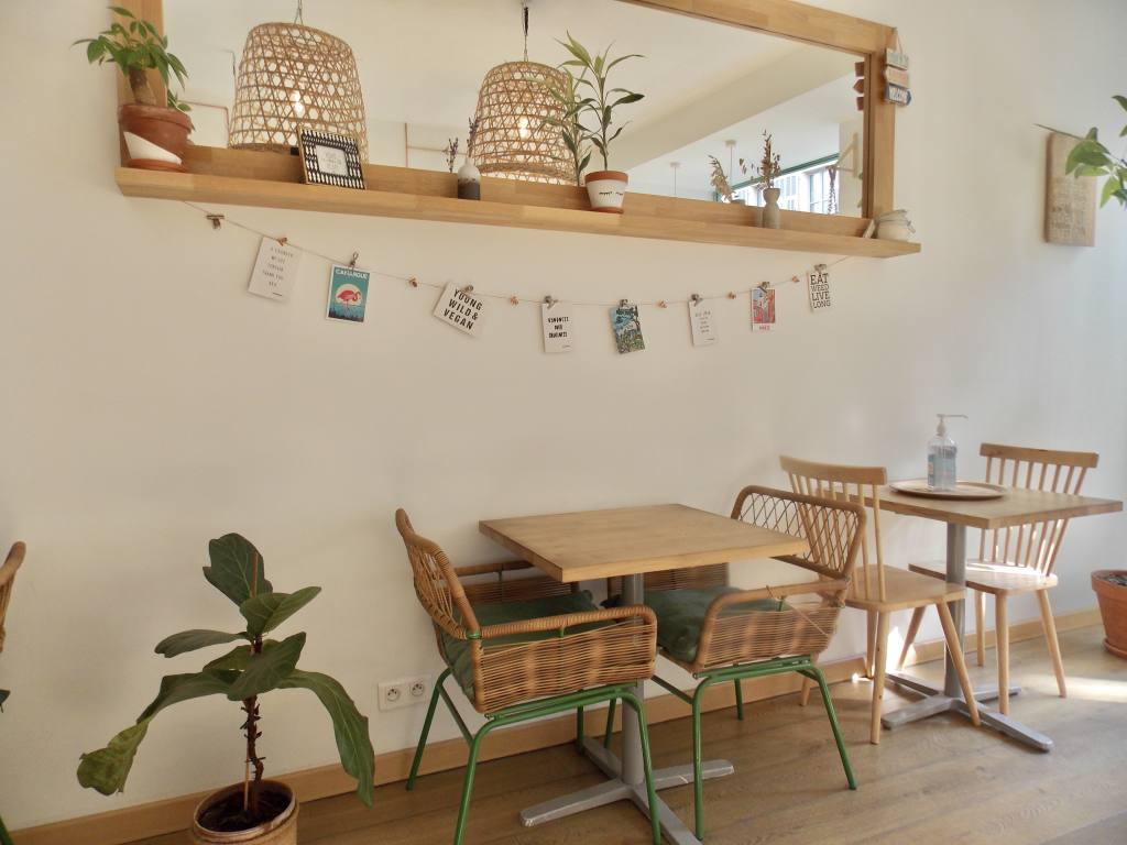 Paper Plane, restaurant vegan à Nice (restaurant)