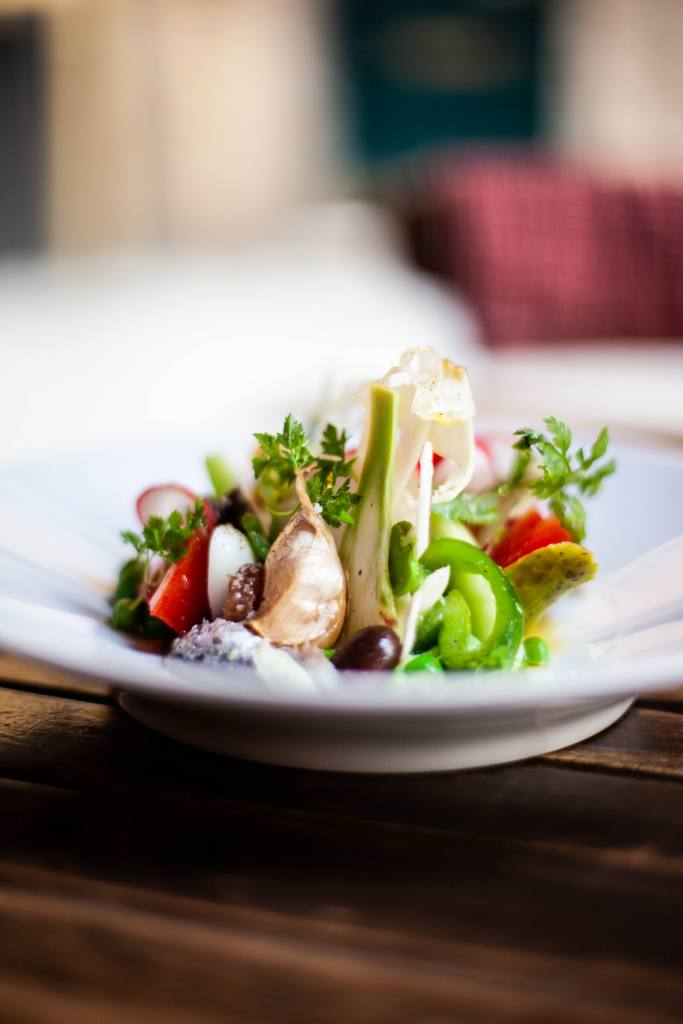 Studio 500 GRAM, photographies culinaires, Nice (salade)
