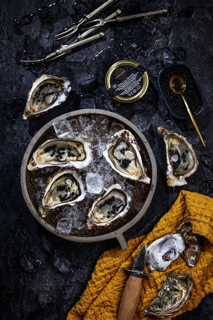 Studio 500 GRAM, photographies culinaires, Nice (huîtres)