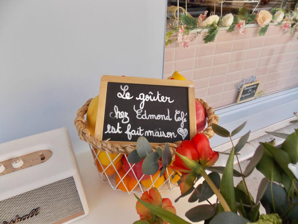 Edmond, Cozy eats & coffee à Nice (goûter)