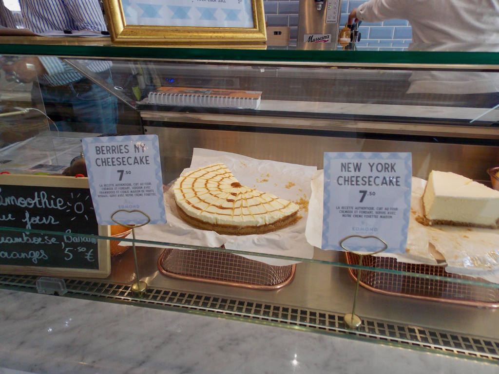 Edmond, Cozy eats & coffee à Nice (gâteaux)