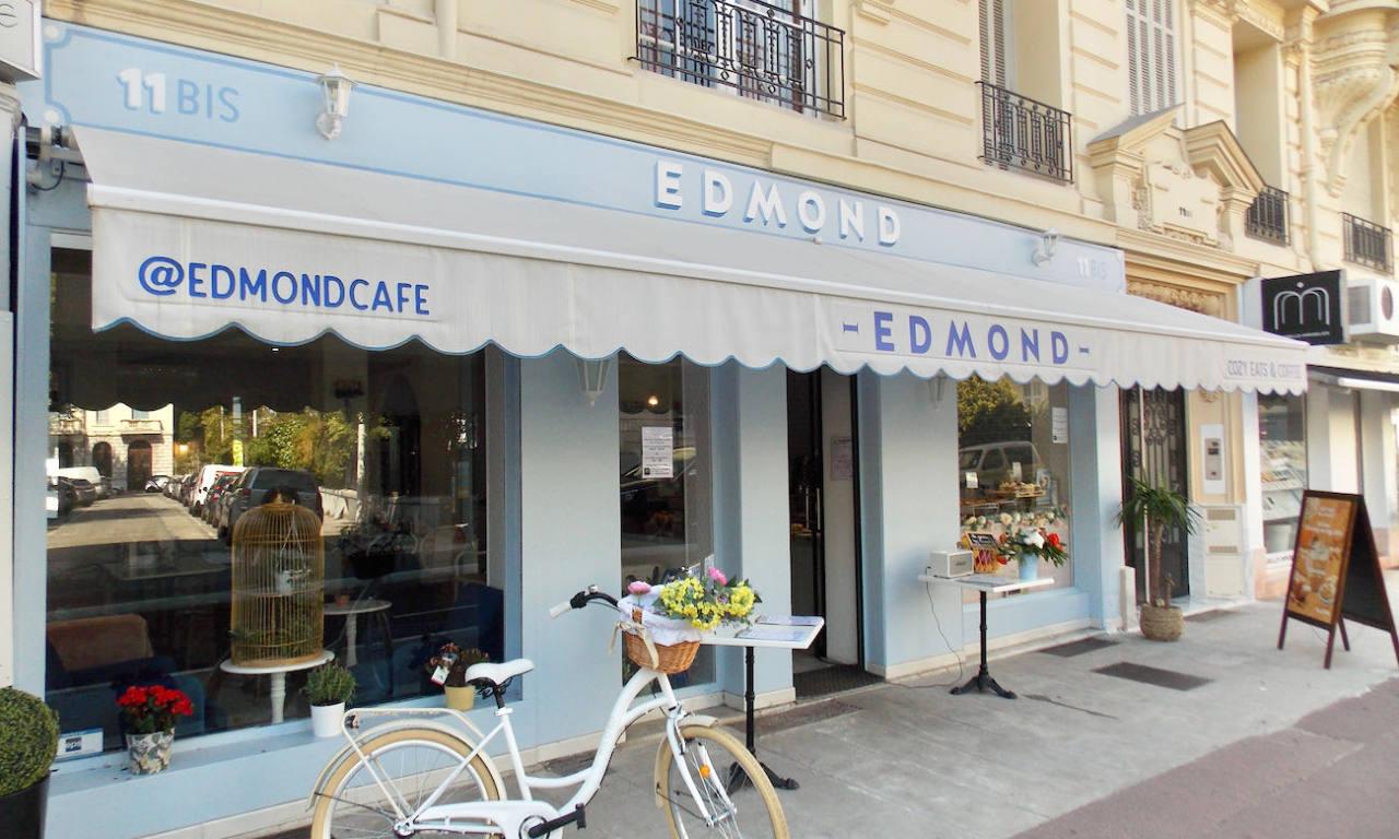 Edmond, Cozy eats & coffee à Nice (salon de thé)