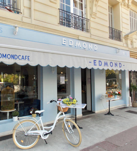 Edmond, Cozy eats & coffee à Nice (salon de thé)