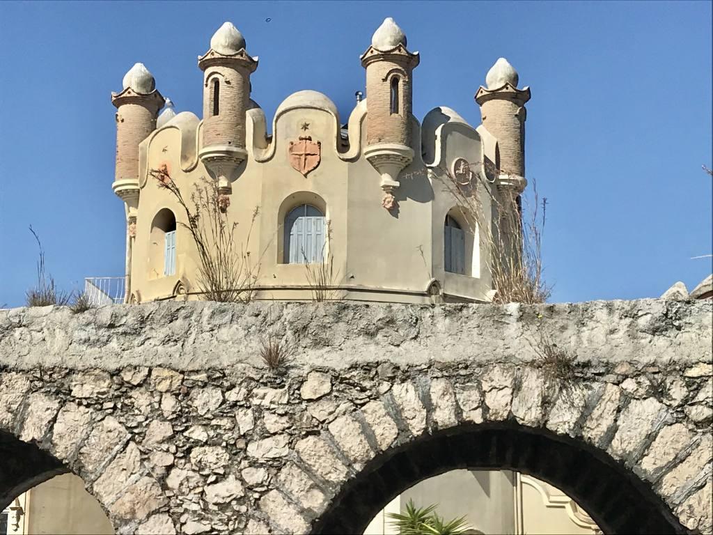 Mont Boron, villégiature de luxe, Nice (château)