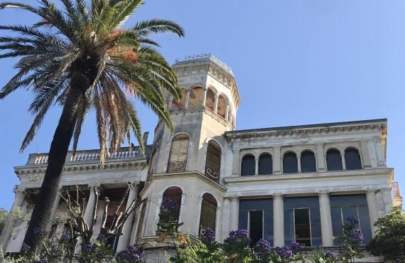 Mont Boron, villégiature de luxe, Nice (palais)