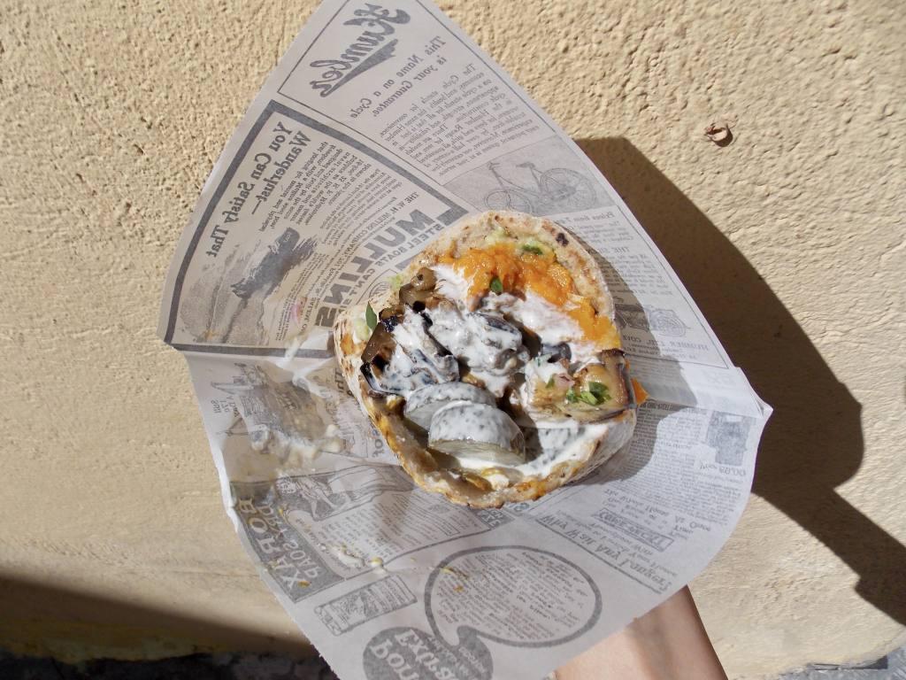 Pita Falafel Nice (pita)