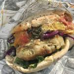 Pita Falafel Nice (sandwich)