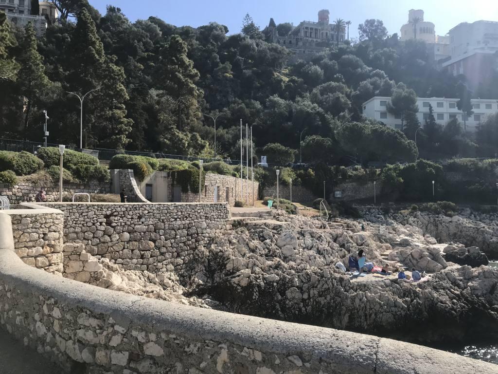 Sentier du Littoral à Nice (promenade)