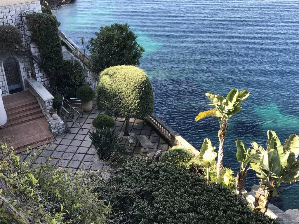 Sentier du Littoral à Nice (jardin)