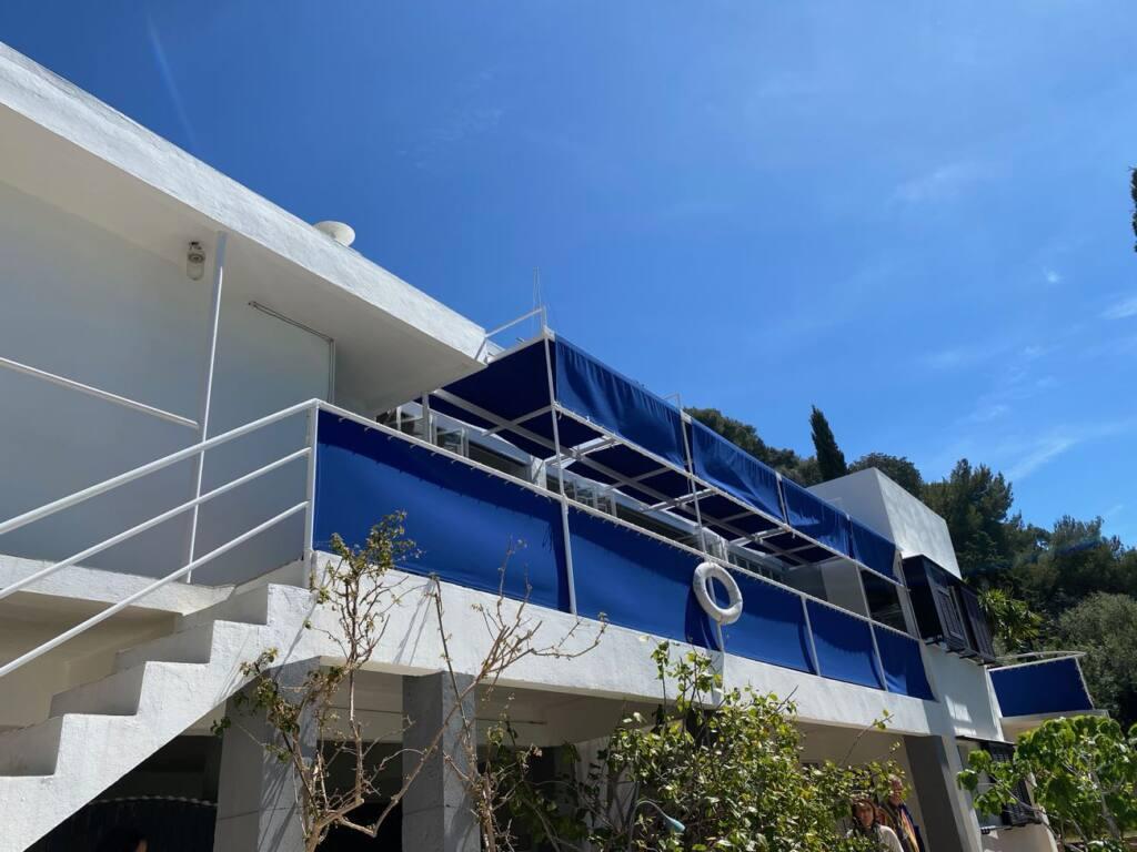 Cap moderne, villa E 1027, city guide love spots (facade)