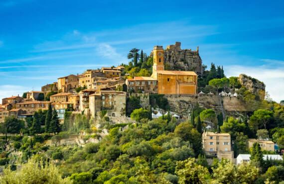 Èze, village médiéval (montagne)
