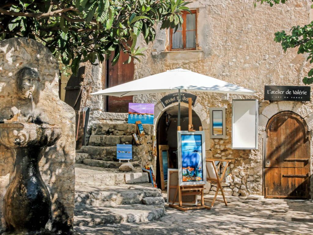 Èze, village médiéval (ruelle)