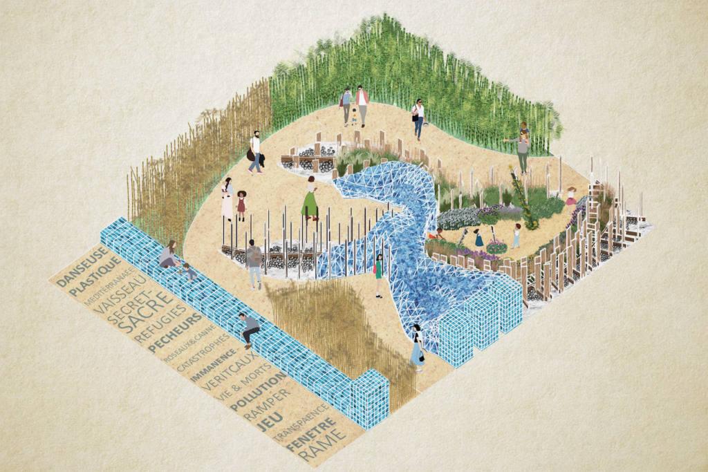 Festival des Jardins, Côte d'Azur (eau)