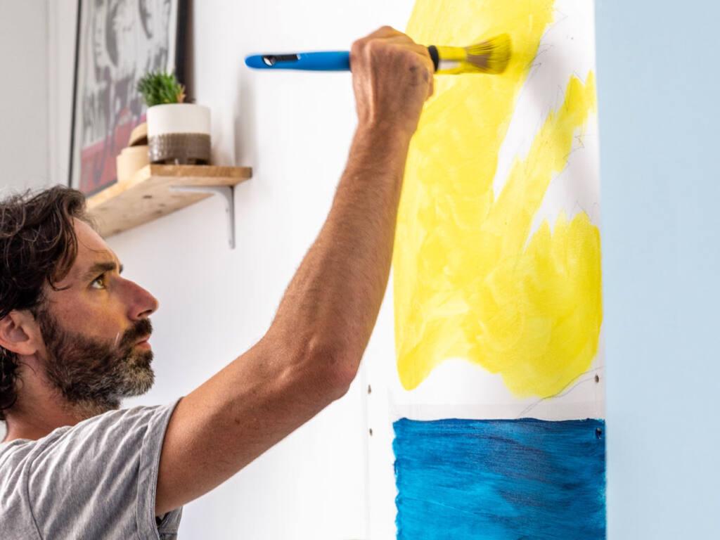 Franck Lebraly, artiste peintre du Sud (peinture)