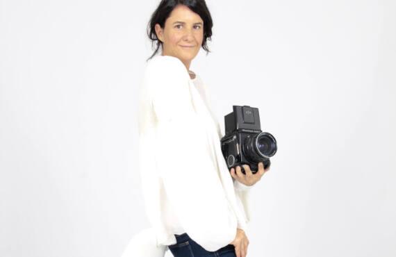Perrine de la Bretesche, photographe à Nice (portrait)