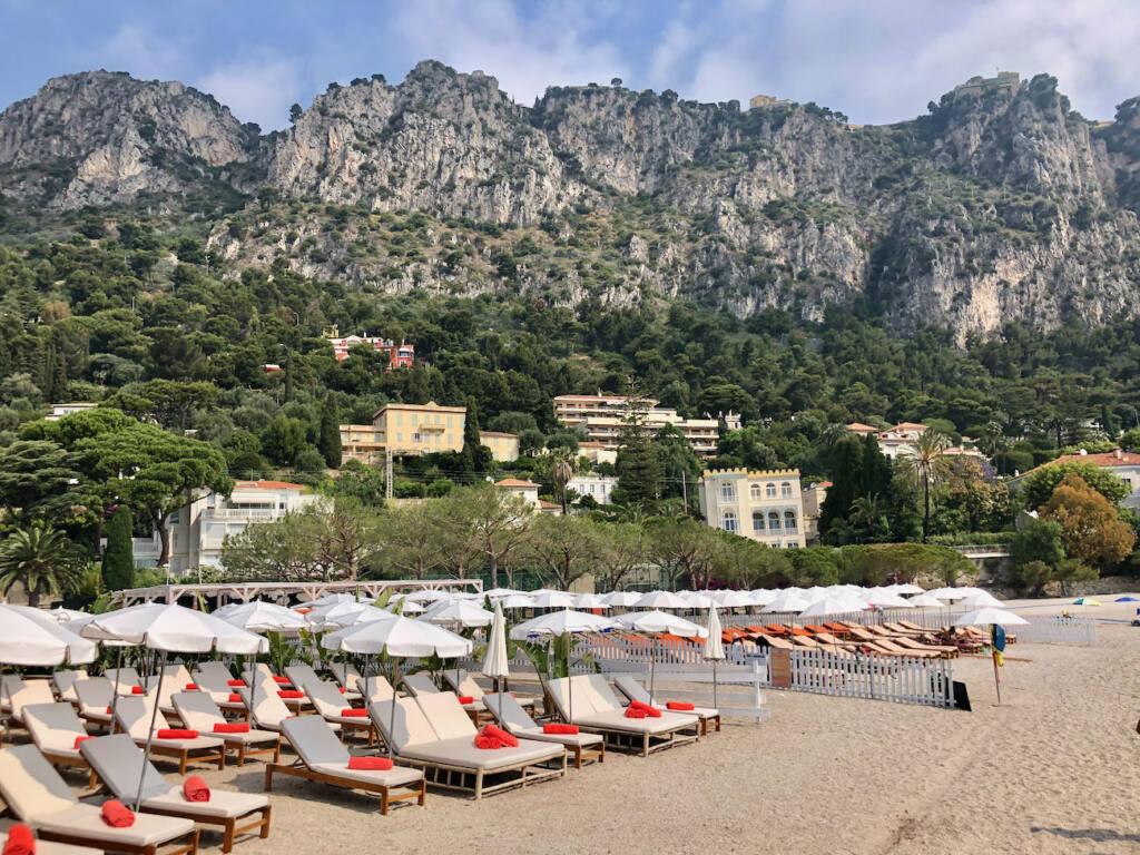 Baia Bella, beach club (transats)