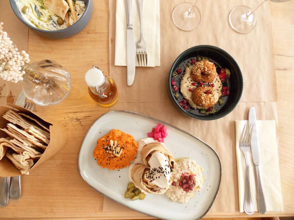 Beyrouth café, restaurant libanais à Nice (plats)