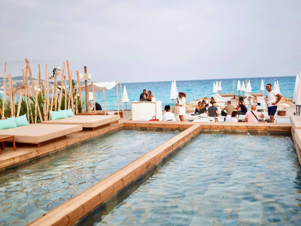 Les Canailles, beach club Nice (piscine)