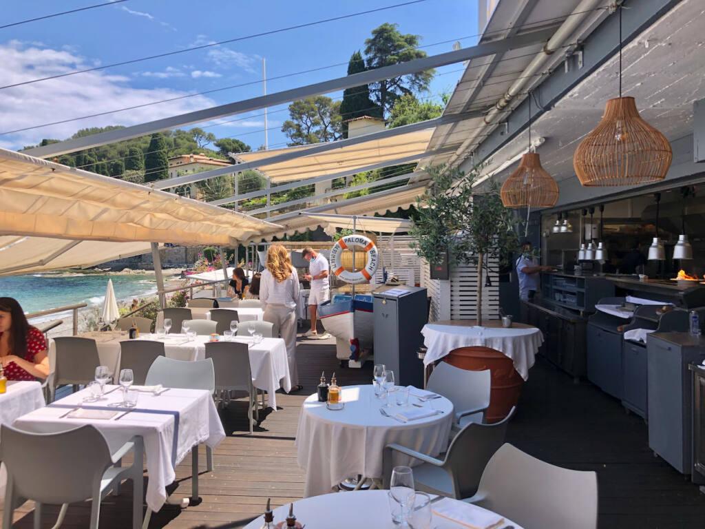 Paloma beach club (terrasse)
