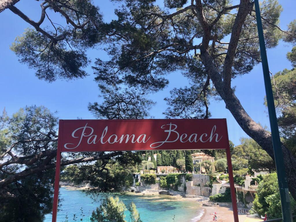 Paloma beach club (devanture)