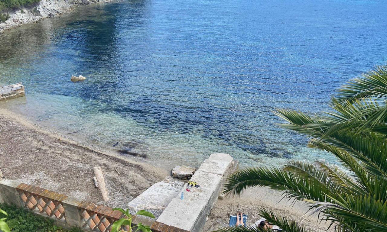 Plage des Fosses, Saint Jean Cap Ferrat (ponton)