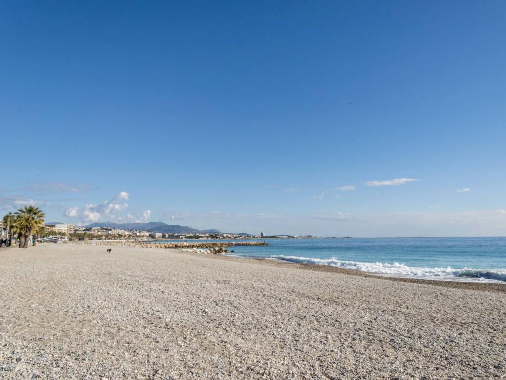 Plage du grand Large, Cagnes-sur-Mer (plage)