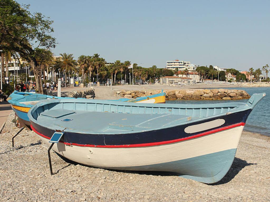 Plage du grand Large, Cagnes-sur-Mer (bateaux)