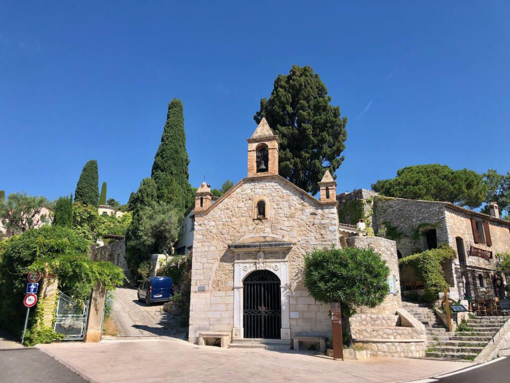 Saint Paul de Vence, village of artists (church)