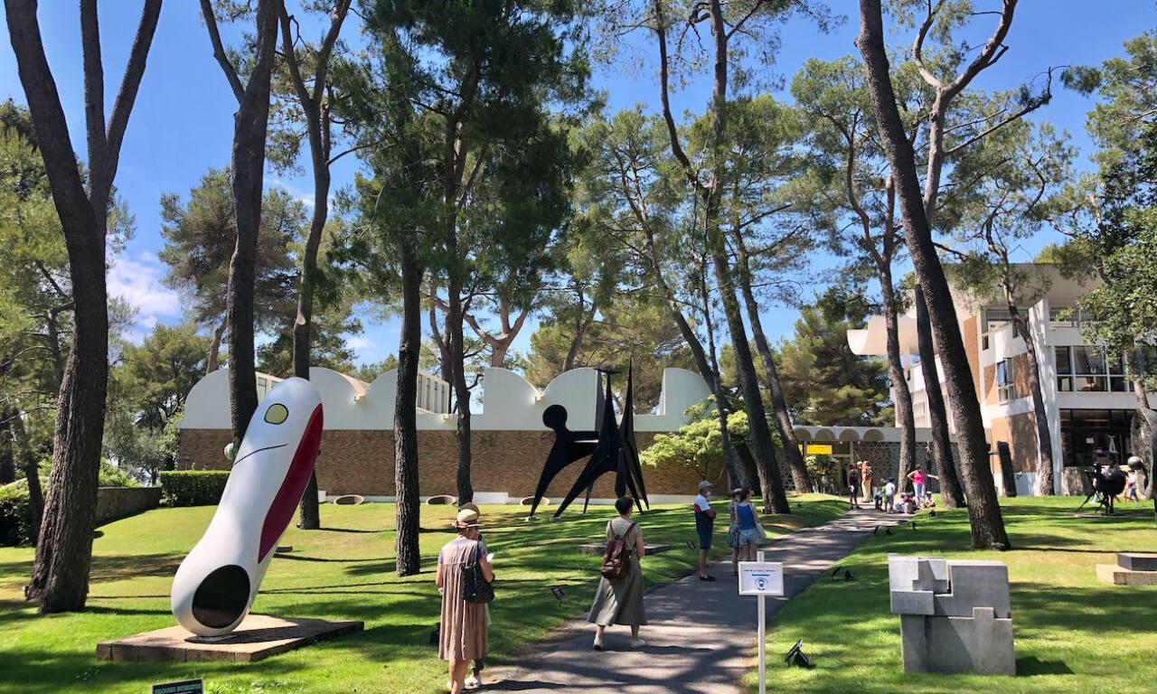 Fondation Maeght, musée d'art contemporain (parc)