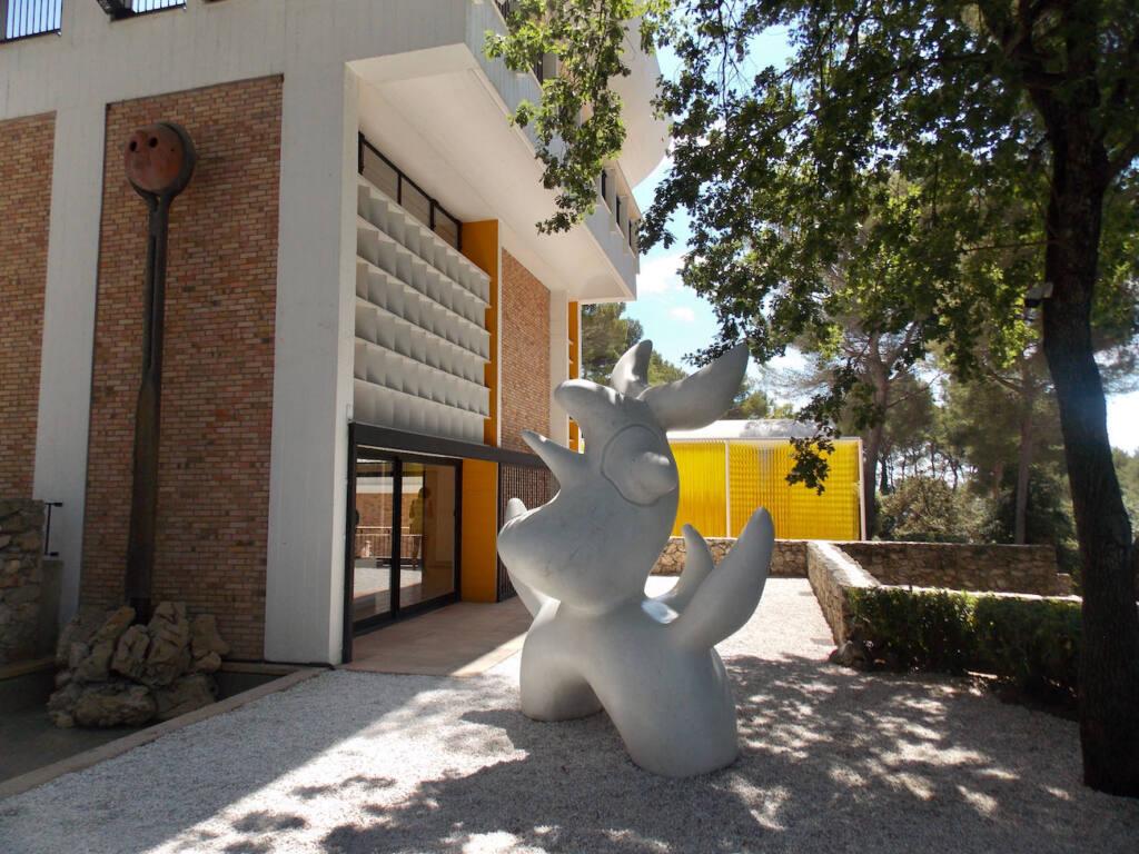 Fondation Maeght, musée d'art contemporain (sculpture)