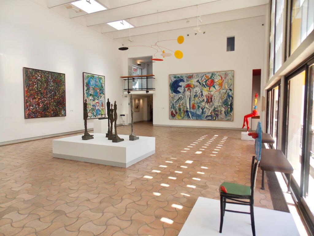 Fondation Maeght, musée d'art contemporain (galerie)