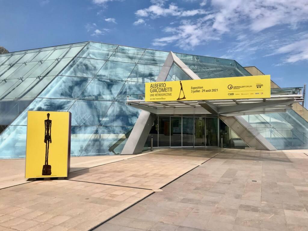 Le réel merveilleux : rétrospective Alberto Giacometti au Forum Grimaldi de Monaco (entrée)