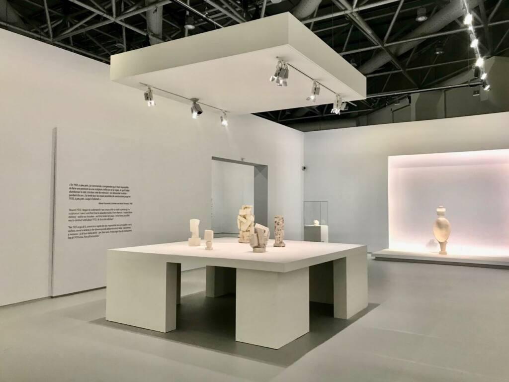 Le réel merveilleux : rétrospective Alberto Giacometti au Forum Grimaldi de Monaco (Salle)