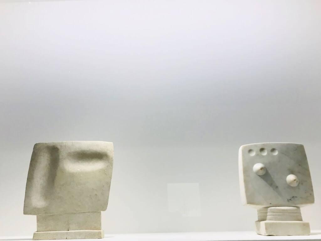 Le réel merveilleux : rétrospective Alberto Giacometti au Forum Grimaldi de Monaco (sculptures)