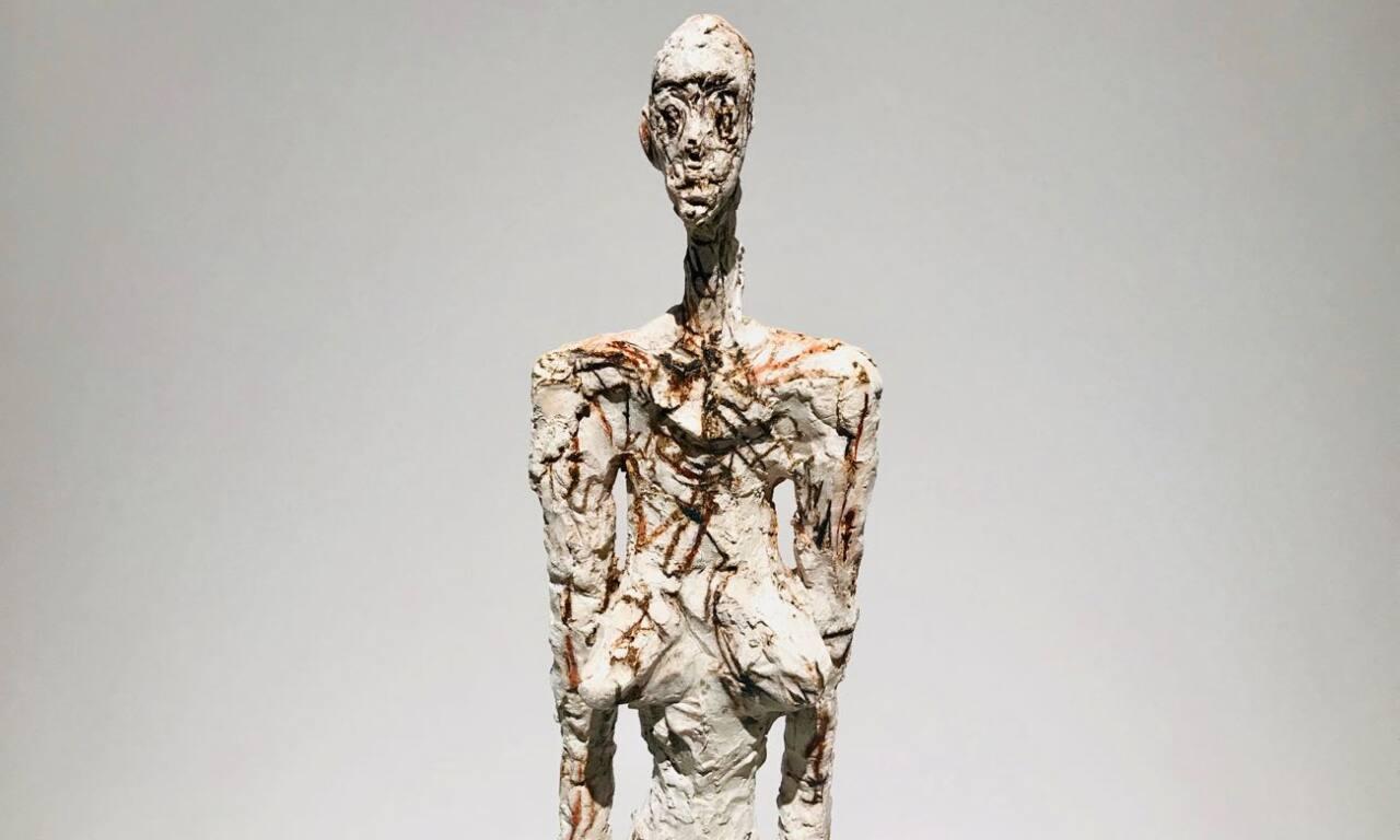 Le réel merveilleux : rétrospective Alberto Giacometti au Forum Grimaldi de Monaco (femme)