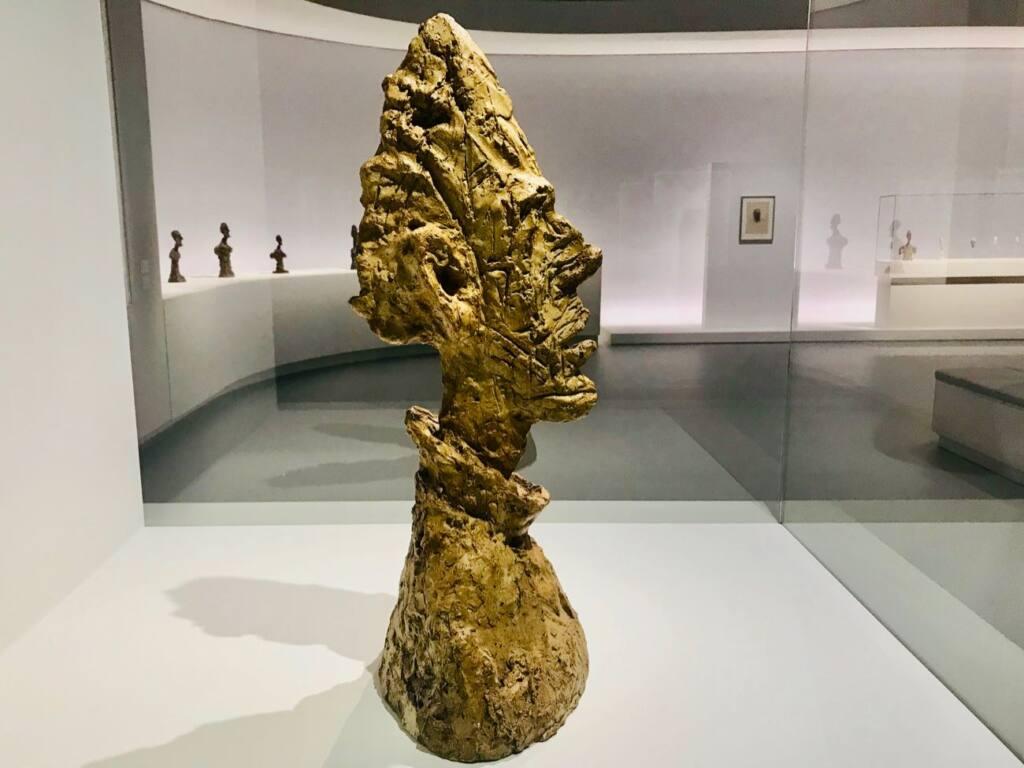 Le réel merveilleux : rétrospective Alberto Giacometti au Forum Grimaldi de Monaco (tête)