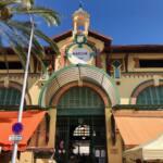 Halles de Menton: marché couvert de produits frais et d'artisans (Entrée)