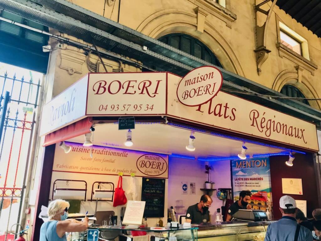 Halles de Menton: marché couvert de produits frais et d'artisans (plats régionaux)