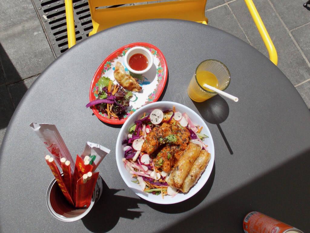 Madame Bobun, Vietnamese restaurant (a meal)