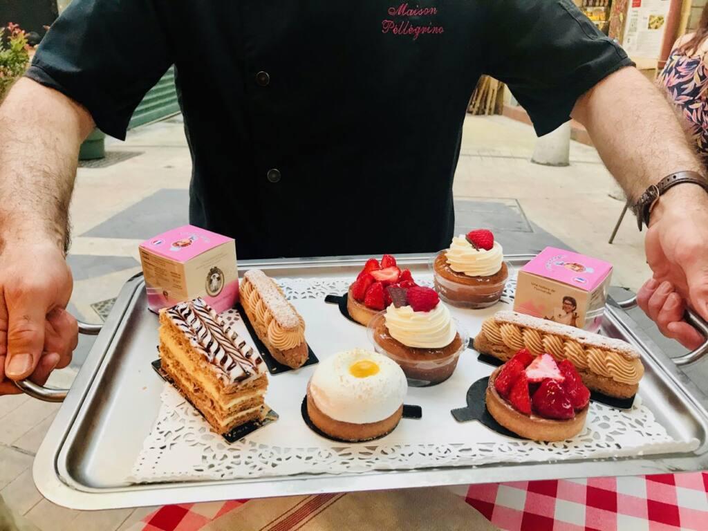 Maison Pellegrino : Cave à vins, épicerie fine et bar à manger dans le Vieux-Nice (pâtisseries)