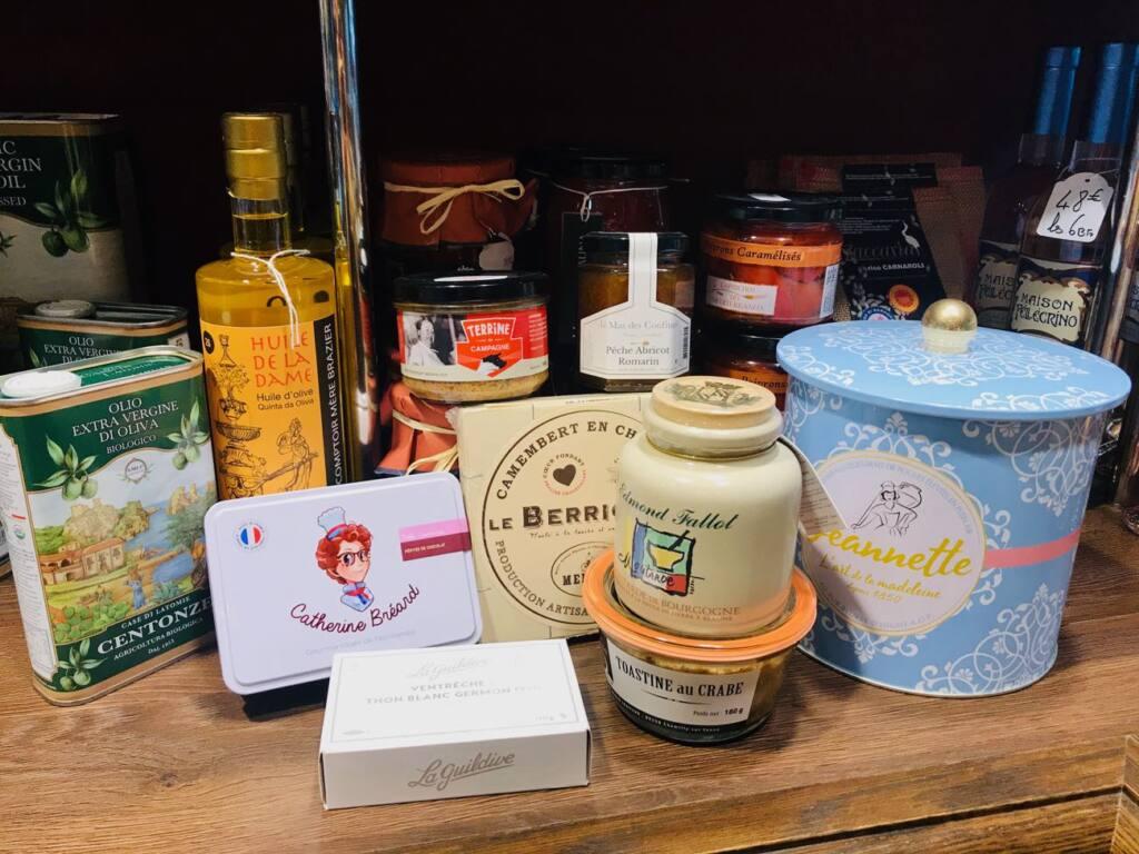 Maison Pellegrino : Cave à vins, épicerie fine et bar à manger dans le Vieux-Nice (produits artisanauxx)