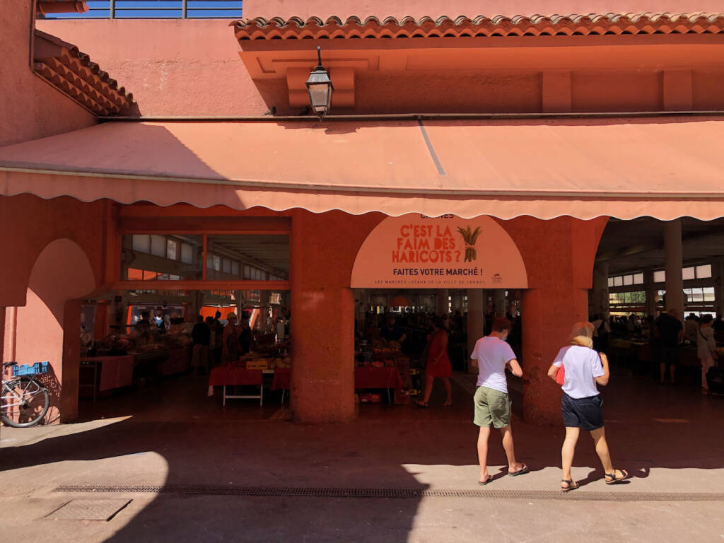 Marché Forville in Cannes (orange)